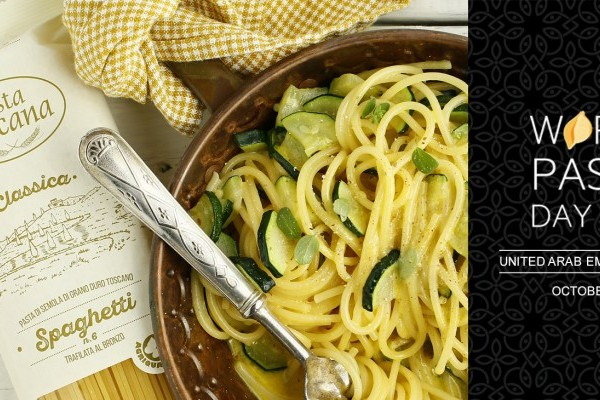 Tradition and Innovation at the World Pasta Day 2018 with Pasta Toscana