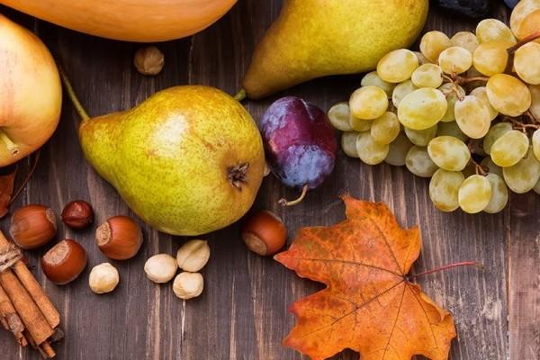 Autunno in tavola: le proprietà nutrizionali dei frutti più amati