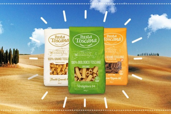 Pasta Toscana's New Sustainable Packaging